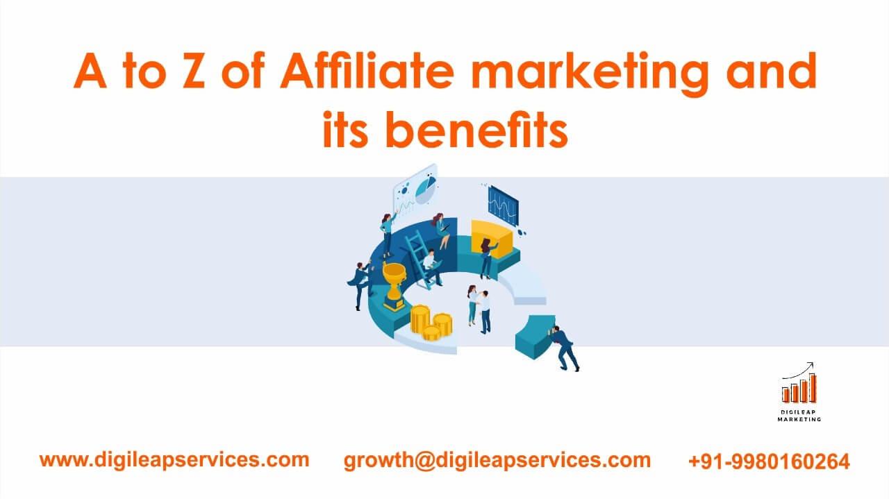 Digital marketing, Affiliate marketing and its benefits, affilate marketing, benefits of affilate marketing