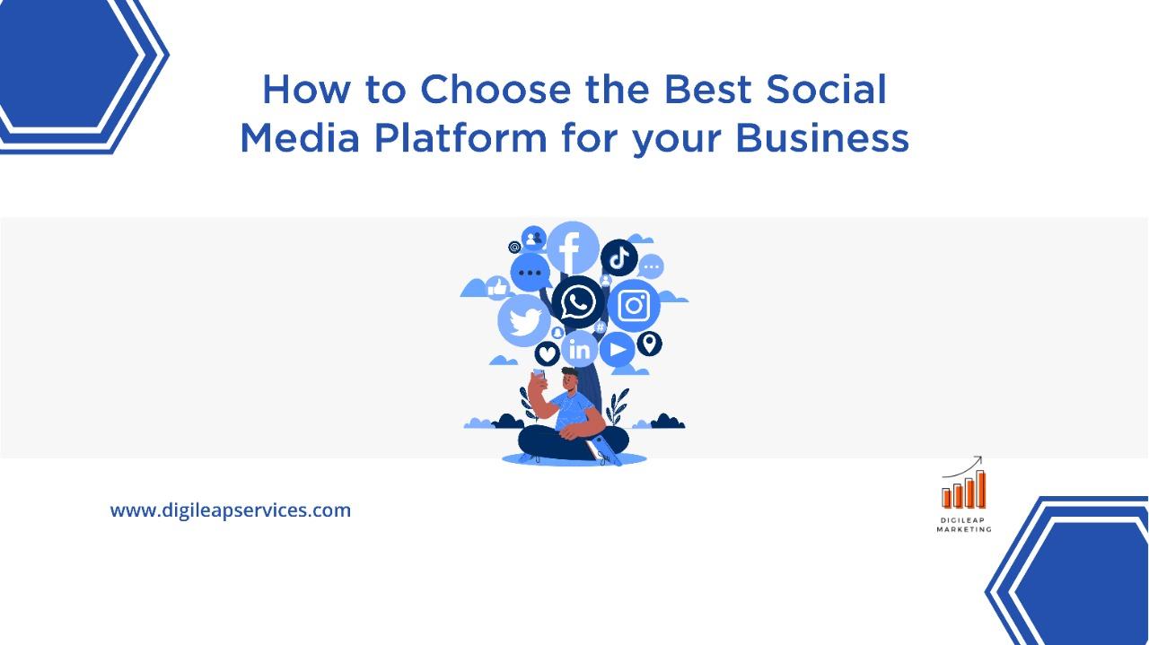 Digital marketing, Perfect social media platform for your business, social media platforms, business, social media