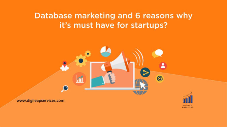 Database marketing and 6 ways why it's necessary?