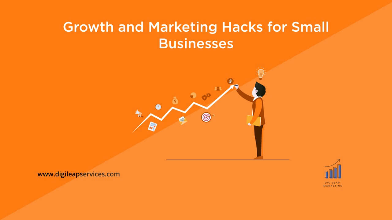Digital marketing, Growth and marketing hacks for small businesses, small businesses, growth and marketing hacks