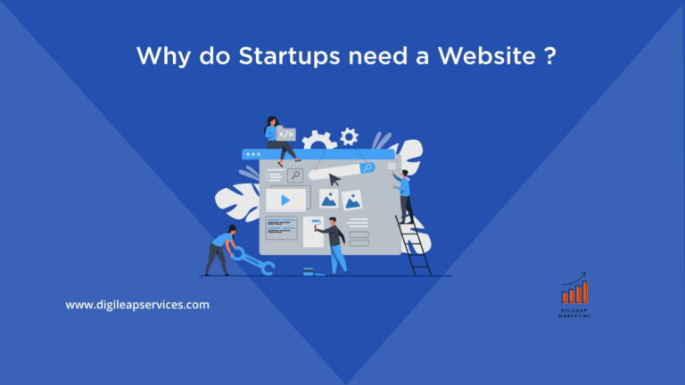 Why do startups need a website?