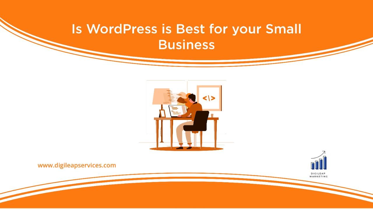 Digital marketing, wordpress, small business, business