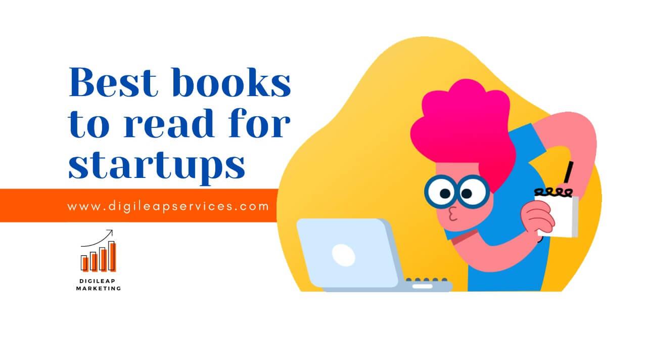 Digital marketing, startup, books for startup, best books