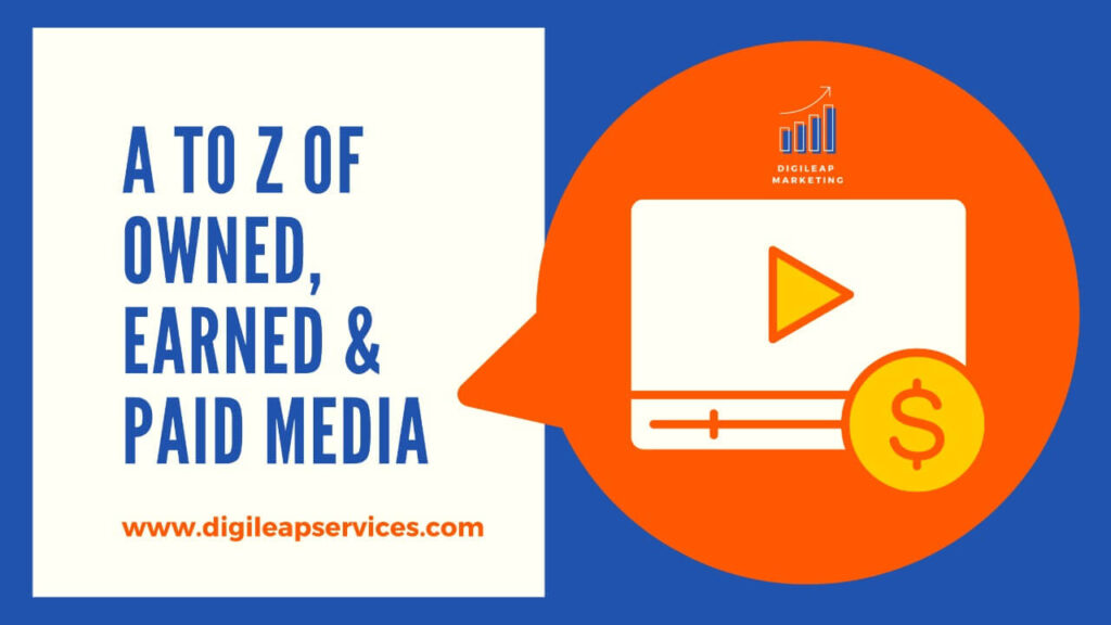Digital marketing, What is owned earned and paid media? , paid media, earned, owned